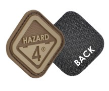 Hazard 4 Diamond Shape Morale Patch