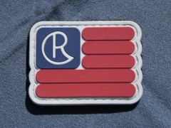 Chris Reeve Flag Patch