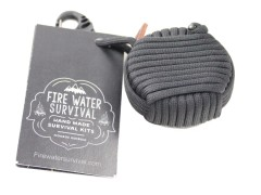 Fire Water Survival Aegis Wrapped - black